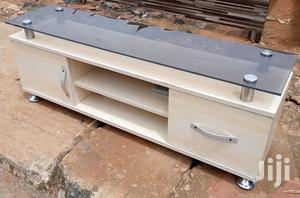 New TV Stand Shelf With Drawers And Glass Top - 48 Inches | Furniture for sale in Lagos State, Ikeja