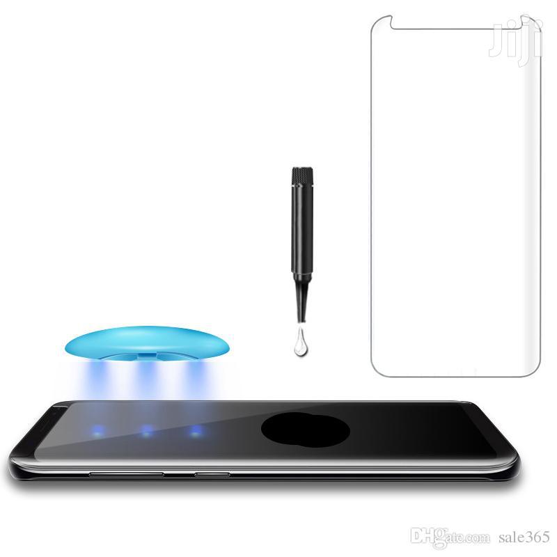 Nano Liquid Full Glue Tempered Glass With UV Light for Samsung Note 9 | Accessories for Mobile Phones & Tablets for sale in Ikeja, Lagos State, Nigeria