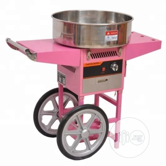 Archive: Candy Floss Machine With Cart