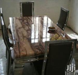 Quality Marble Dining Table by Six Seater   Furniture for sale in Lagos State, Badagry