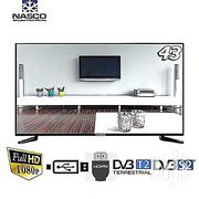 "NASCO 43"" Digital LED Satellite TV With Built In Voltage Regulator   TV & DVD Equipment for sale in Lagos State"