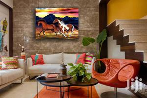Horses 1pcs HD Canvas Wall Art | Home Accessories for sale in Lagos State, Agege