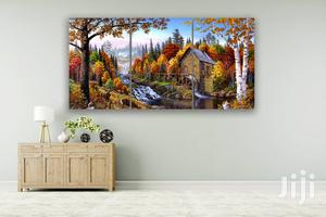 Lovely Garden 3pcs Canvas Wall Art | Home Accessories for sale in Lagos State, Agege
