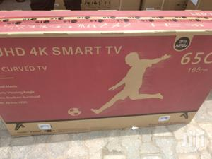 LG 65inches Curved TV 4k   TV & DVD Equipment for sale in Lagos State, Surulere