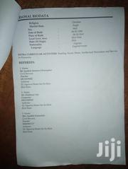 Clerical CV | Clerical & Administrative CVs for sale in Ekiti State, Aramoko