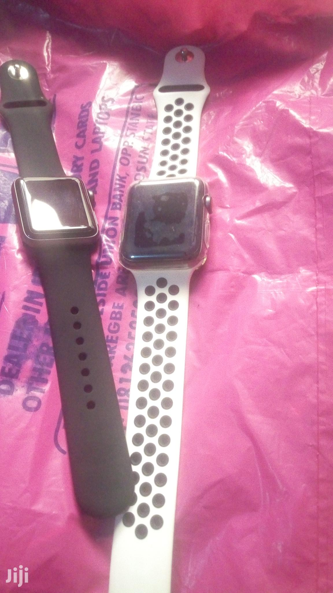 Apple Series3 Iwatch 42mm | Smart Watches & Trackers for sale in Osogbo, Osun State, Nigeria