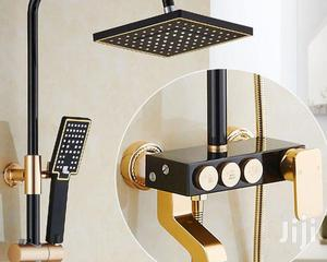 Black And Gold Standing Shower.   Plumbing & Water Supply for sale in Lagos State, Orile
