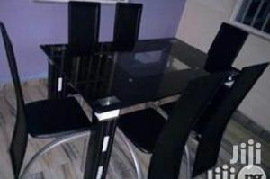Quality Classy Glass Dining Table by Six Seater   Furniture for sale in Lagos State, Egbe Idimu