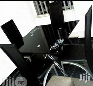 Quality Classy Glass Dining Table by Four Seater   Furniture for sale in Lagos State, Egbe Idimu