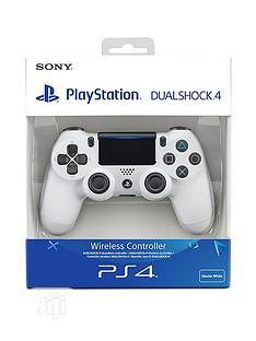 Sony PS4 Dualshock 4 Wireless Controller -white   Accessories & Supplies for Electronics for sale in Lagos State, Ikeja