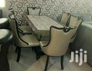Quality 6 Seaters Crystal Marble Dining Table | Furniture for sale in Abuja (FCT) State, Central Business Dis