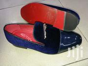 Blue Glossy and Suede Jaguar Designers Shoes | Shoes for sale in Lagos State, Lagos Island