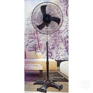 STC Super Black 18 Inch Standing Fan   Home Appliances for sale in Lagos State, Ikotun/Igando