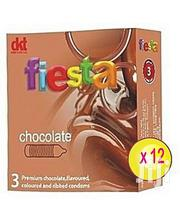 Fiesta Chocolate Condoms - 12 Packs | Skin Care for sale in Lagos State, Ikeja