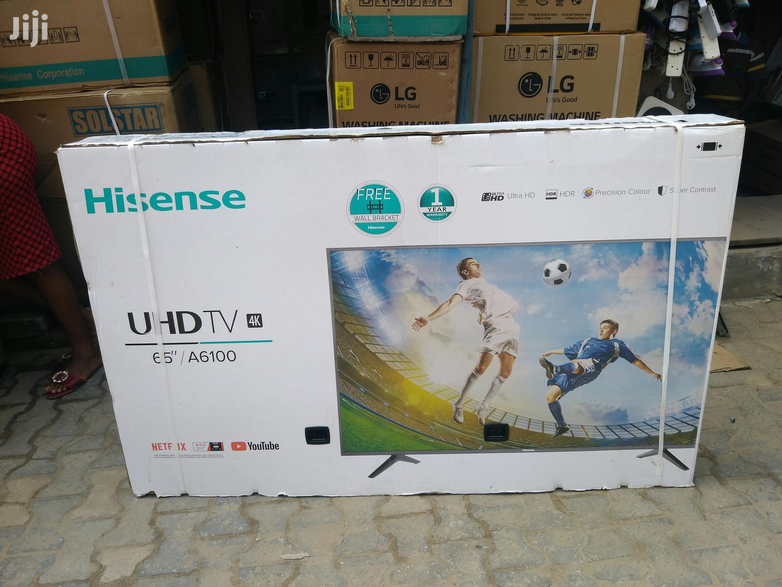 New Hisense Smart Led 65 4k TV