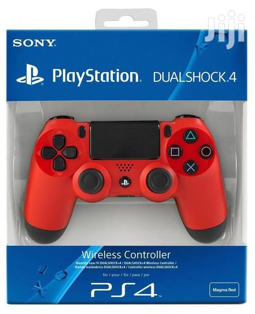 Sony PS4 Dualshock 4 Wireless Controller | Accessories & Supplies for Electronics for sale in Ikeja, Lagos State, Nigeria