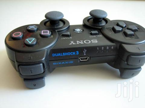 Sony Dualshock 3 Wireless Controller For PS3 BLACK COLOUR | Accessories & Supplies for Electronics for sale in Ikeja, Lagos State, Nigeria