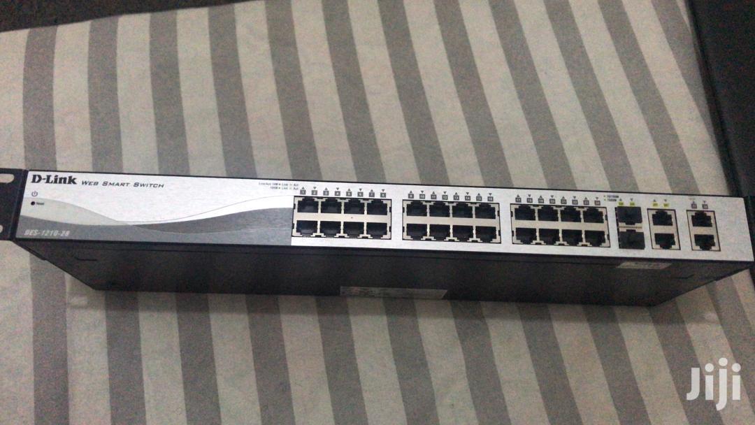 Archive: D-link 28port 1210-28 Smart POE Switch