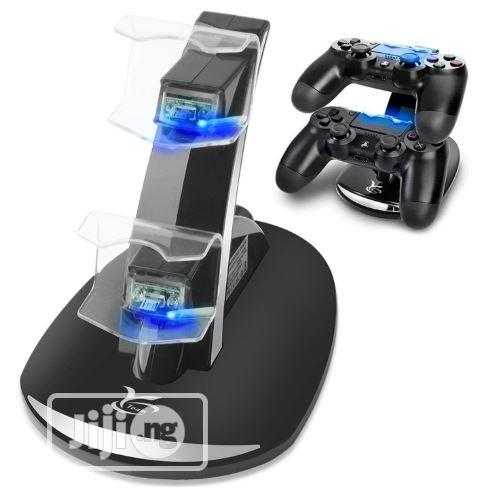 PS4 Wireless Charger Dual USB Fast Charging For Sony Playstation 4