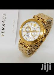 Gianni Versace White And Blue Dail Watch | Watches for sale in Lagos State, Ikeja