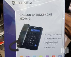 Opti-Max Mx-015 Optimax Caller Id Telephone, Backlight LCD Display   Computer Accessories  for sale in Lagos State, Ikeja