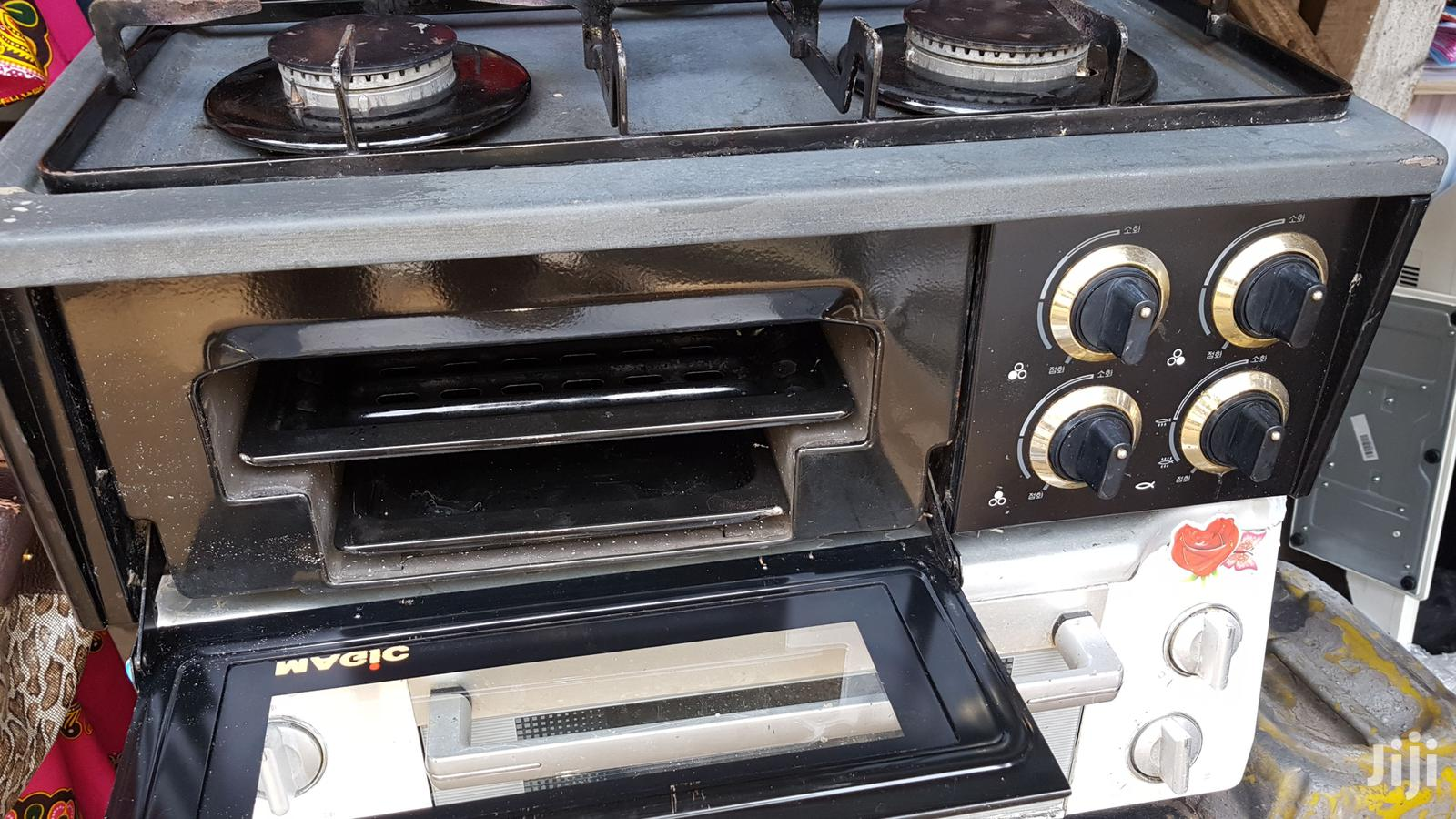 UK Used Table Top Gas Cooker With Oven
