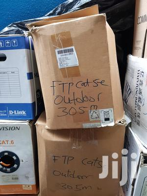 FTP Cat5e 100% Copper Outdoor Cable | Computer Accessories  for sale in Lagos State, Ikeja