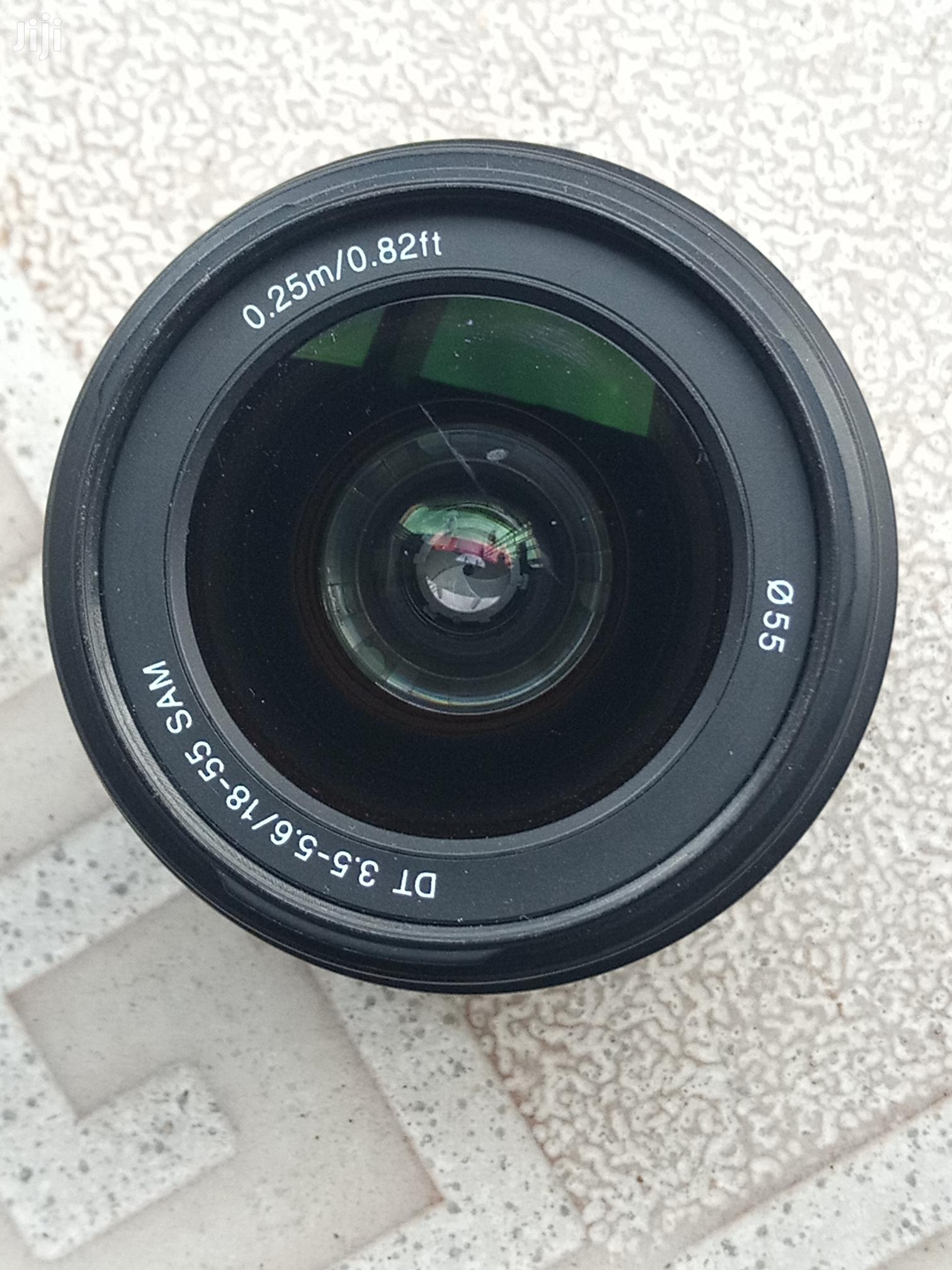 Sony 18-55mm Lens