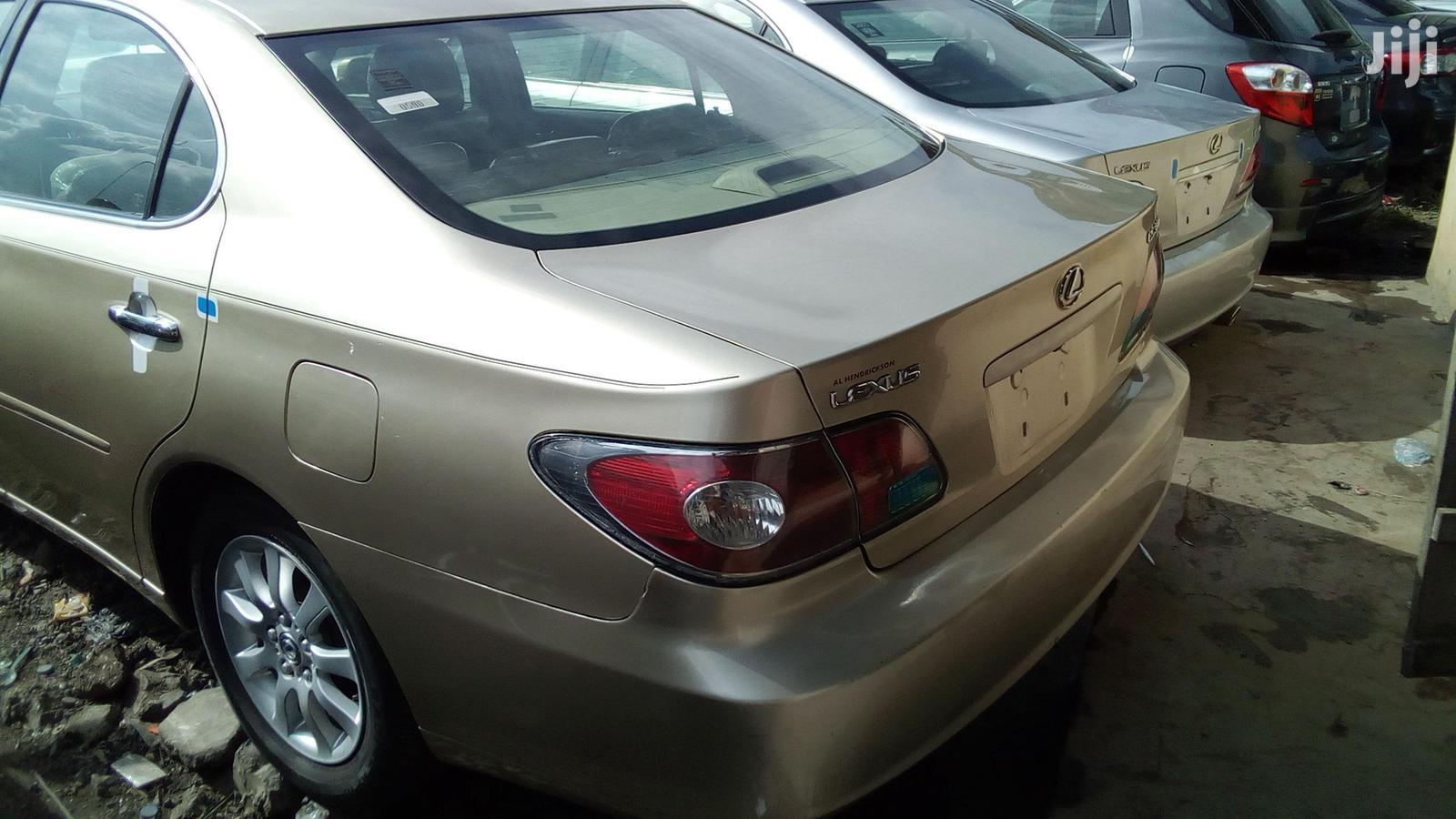 Lexus ES 2003 Gold   Cars for sale in Apapa, Lagos State, Nigeria