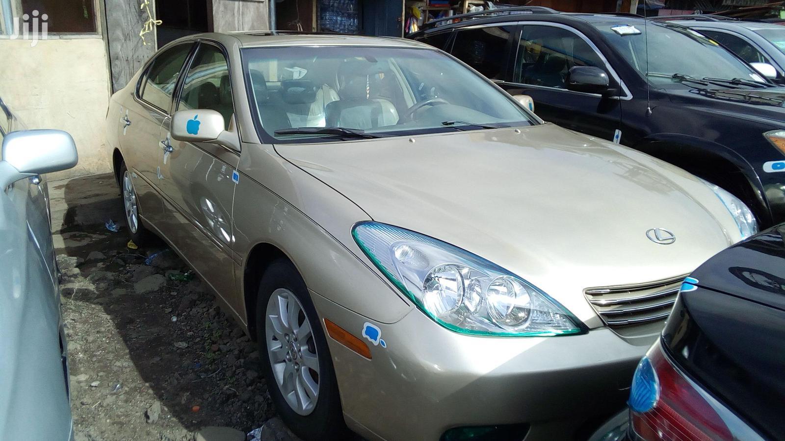 Lexus ES 2003 Gold