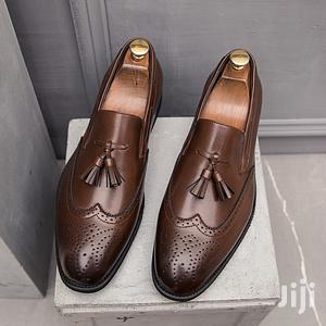 Men's Business Slip On Leather Pointed Shoes   Shoes for sale in Lagos State, Alimosho