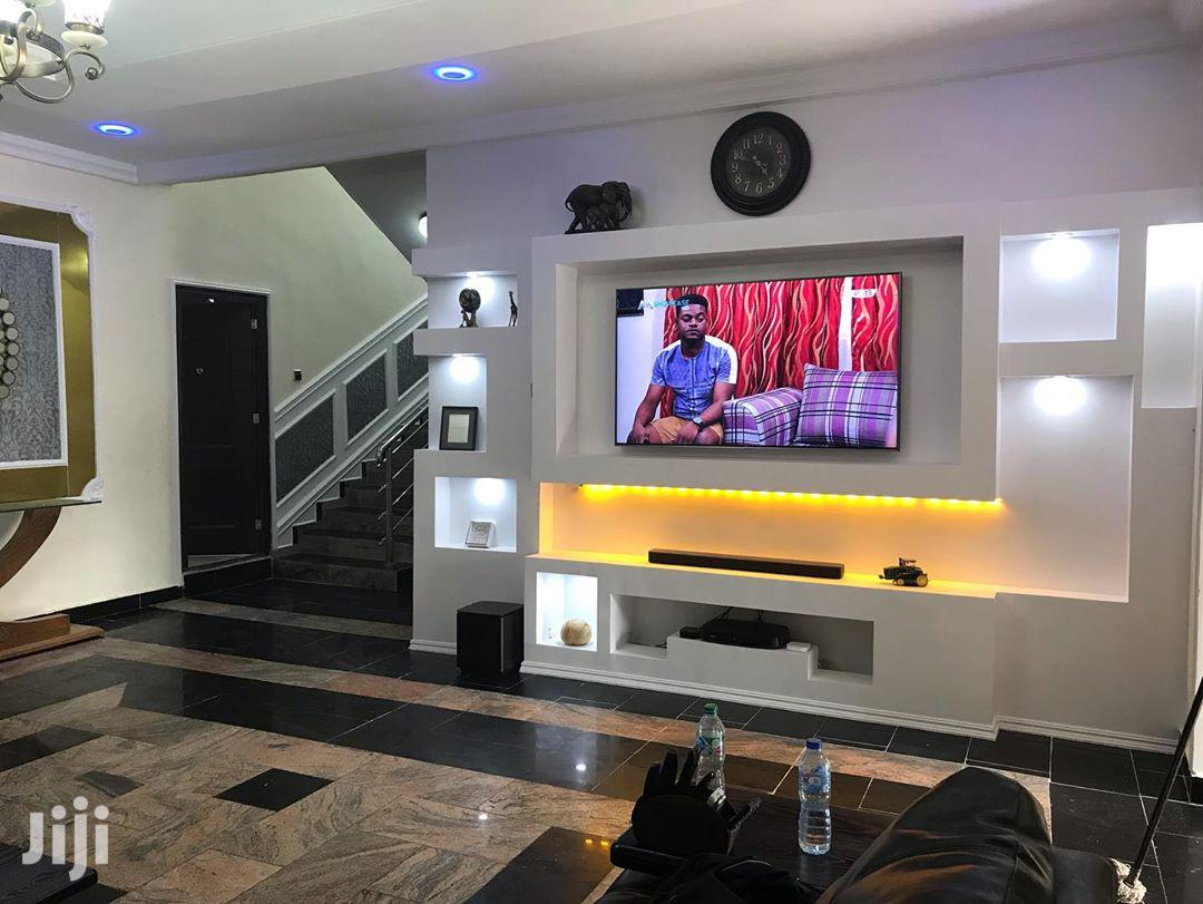 TV Wall False And House Painting And Interior Decoration