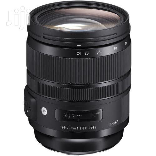Sigma 24-70mm F/2.8 DG OS HSM Art Lens for Canon EF   Accessories & Supplies for Electronics for sale in Port-Harcourt, Rivers State, Nigeria