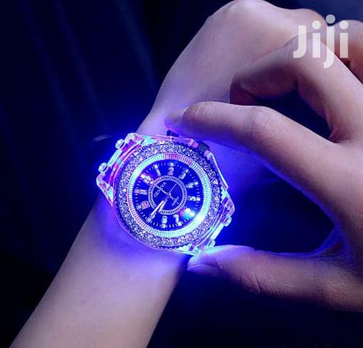 Hublot Geneve Wristwatch With Rubber Strap Available