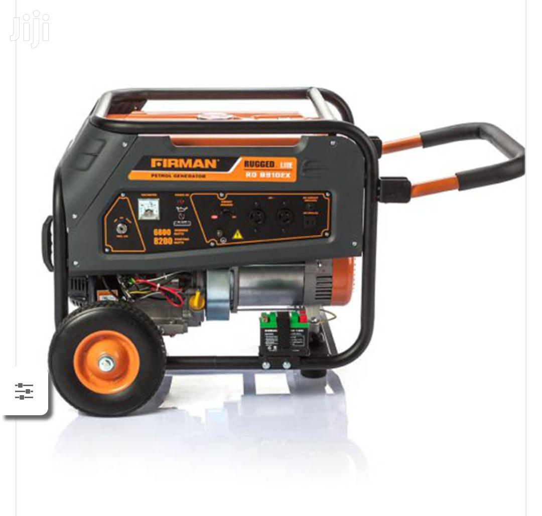Sumec Firman Generator RD8910EX