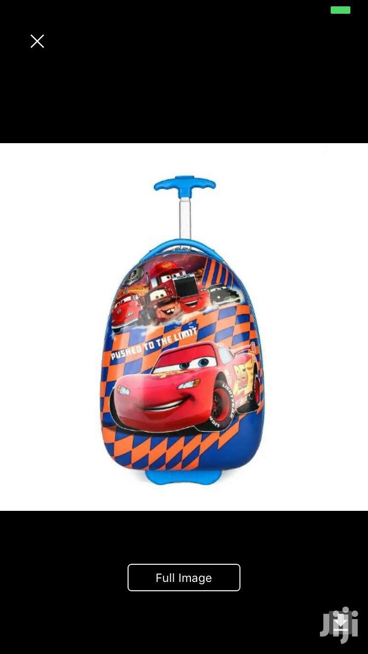 Archive: Trolley School Bag (Car)