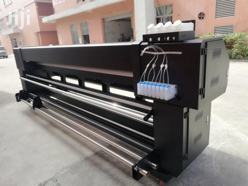 Mimage 10ft Eco Solvent Large Format Printer With 2 Pcs DX5/XP600 | Printing Equipment for sale in Ikeja, Lagos State, Nigeria