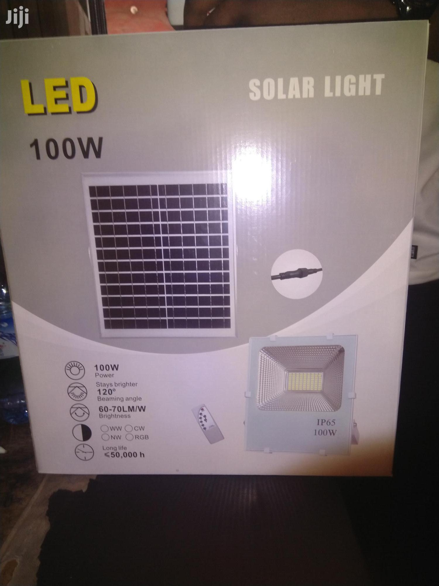 100w Solar Flood Light | Solar Energy for sale in Sapele, Delta State, Nigeria