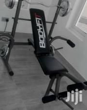 Commercial Weight Bench With 50kg Plate | Sports Equipment for sale in Cross River State, Ikom