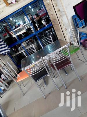 Restaurant Table And 6 Chairs   Furniture for sale in Lagos State, Ojo