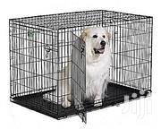 Generic Wire Collapsible Dog Cage Medium. | Pet's Accessories for sale in Rivers State, Port-Harcourt