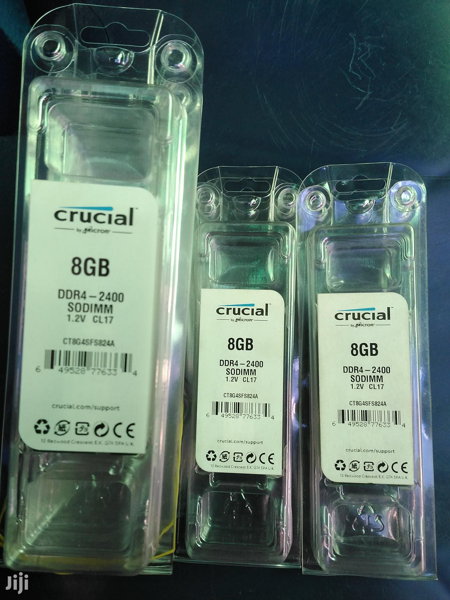 Crucial 8gb Ddr4. | Computer Hardware for sale in Ikeja, Lagos State, Nigeria