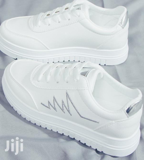White Sneakers For Ladies/Women Available In Different Sizes | Shoes for sale in Lekki, Lagos State, Nigeria