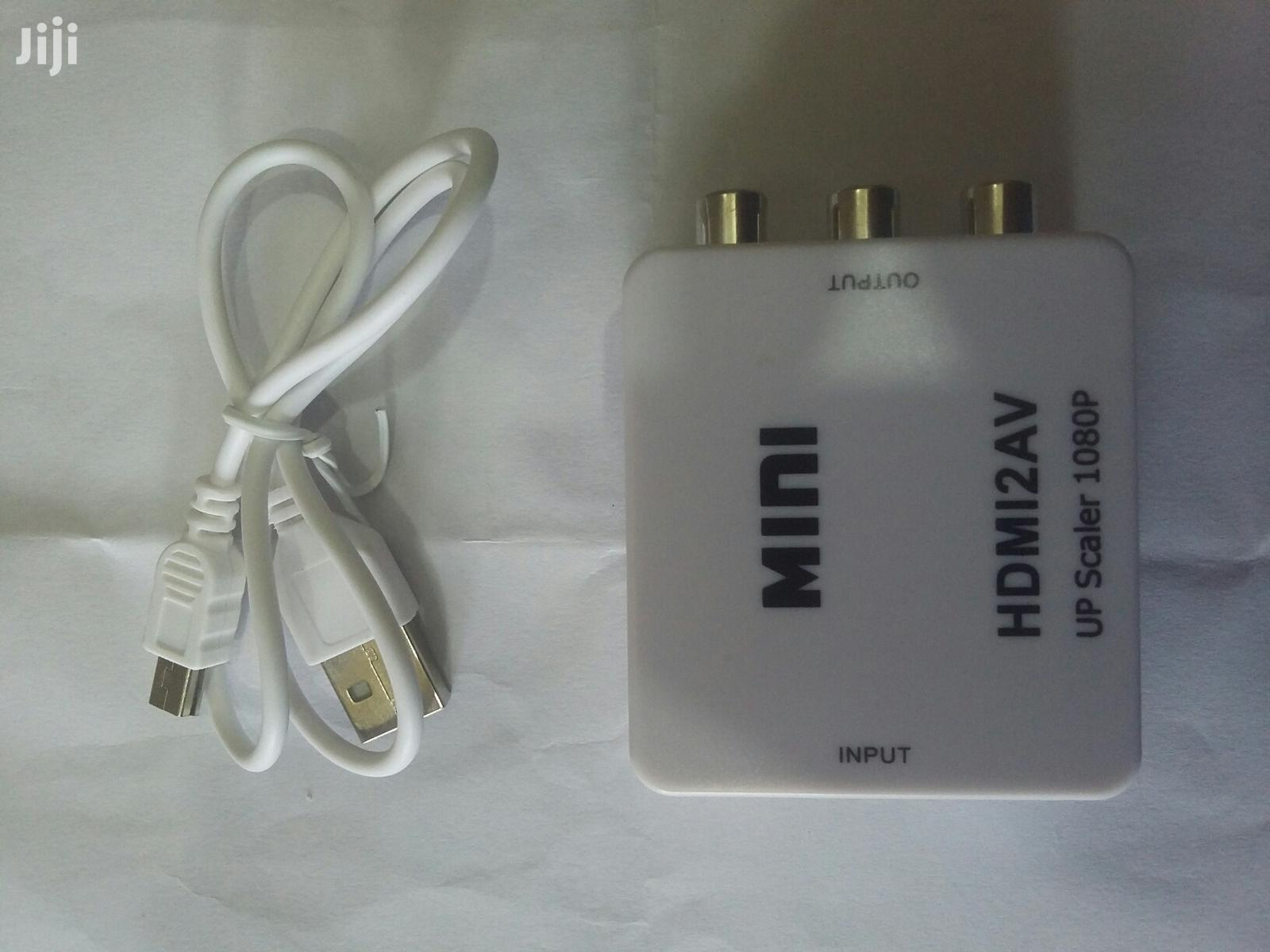 HDMI To AV Converter | Accessories & Supplies for Electronics for sale in Ikeja, Lagos State, Nigeria
