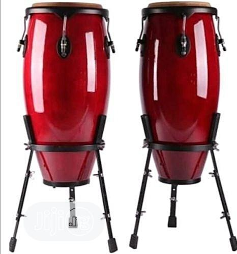 Premier Set Of Conga Drum With Stand