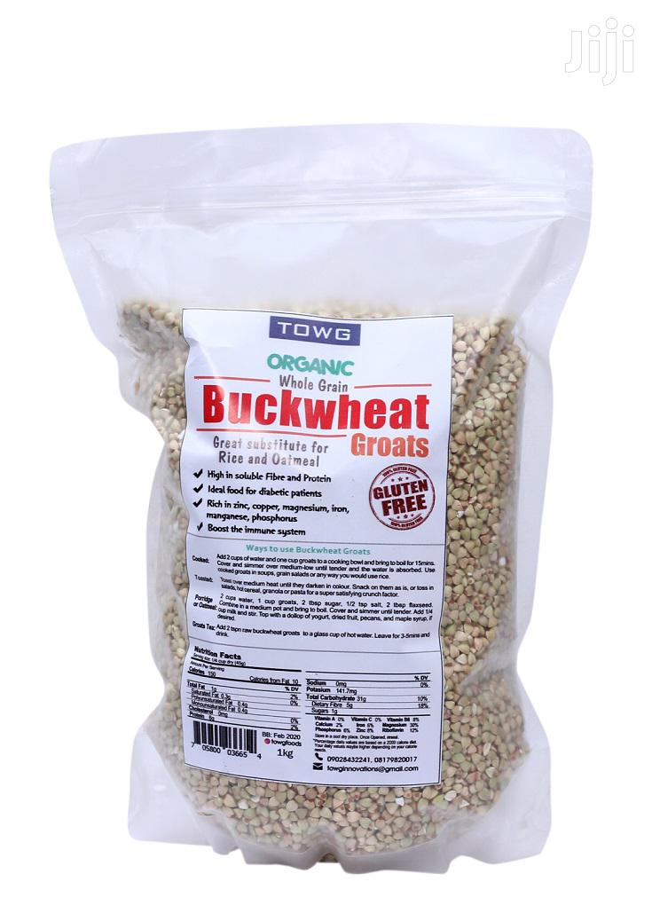 Organic Buckwheat Groats -1kg (Great Substitute For Rice And Oatmeal)