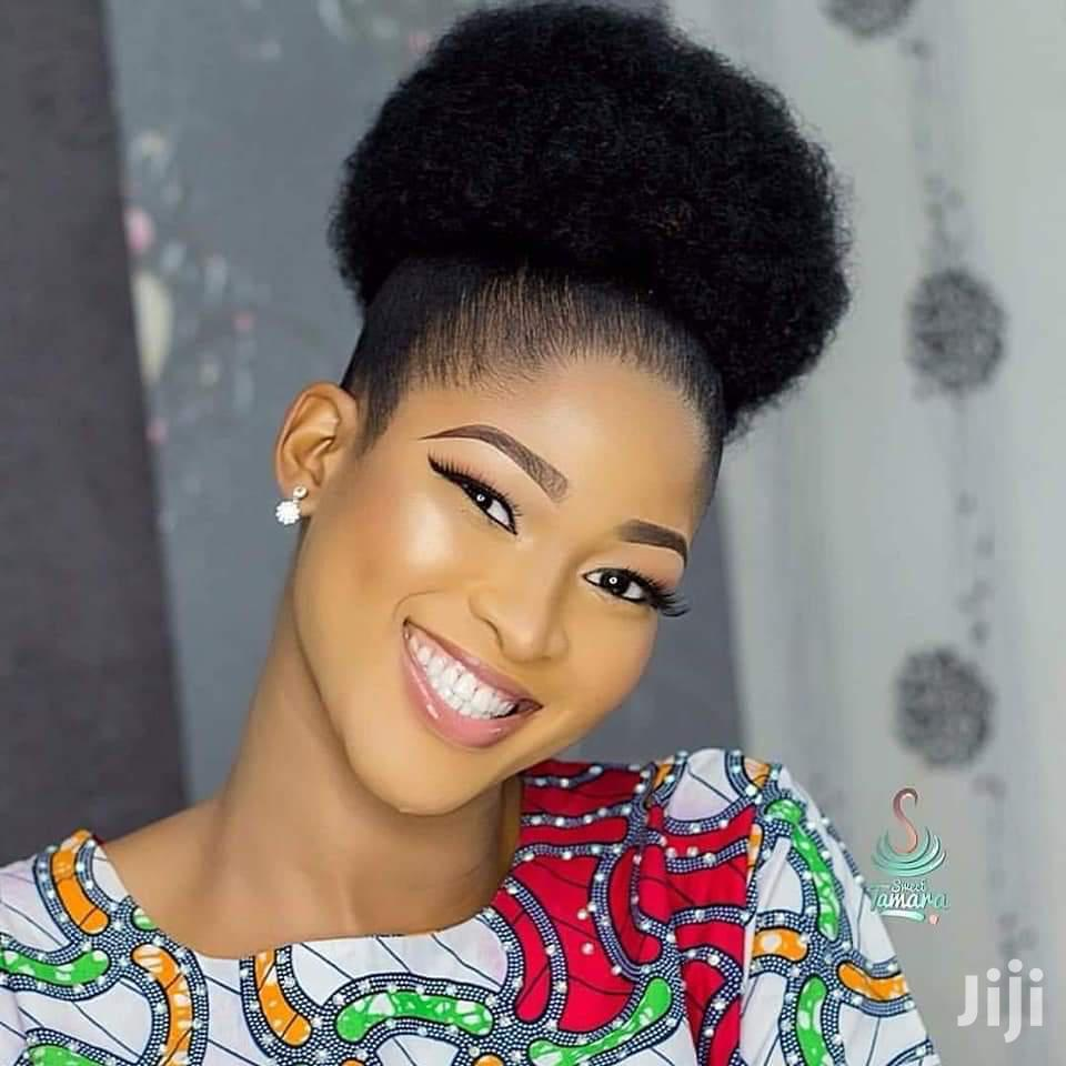 Black Friday Sales Afro Bun Wig Cap In Lagos Island Eko Hair Beauty Akinyemi Victoria Jiji Ng