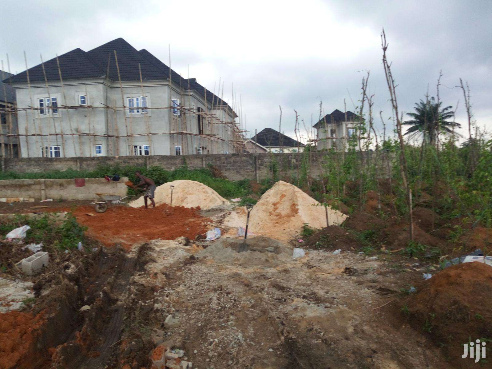 Genuine Half Plot of Land for Sale With Federal Light at AIT Estate