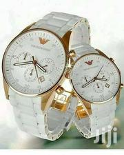 White Male Female Designers Wrist Watch by E. Armani | Watches for sale in Lagos State, Lagos Island
