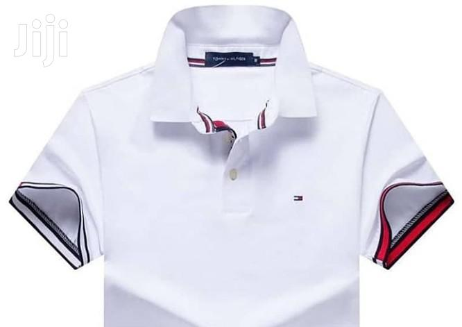 Archive: Original White Designer Polo Tshirts by Tommy H.